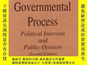 二手書博民逛書店The罕見Governmental ProcessY307751 David Bicknell Truman
