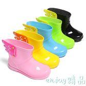 雙12狂歡購 超輕兒童雨鞋女童水鞋天使翅膀寶寶雨鞋小童男童時尚短筒雨靴