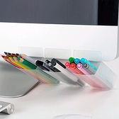 ✭米菈生活館✭【F57】螢幕輔助文具黏貼袋 筆袋 工具 刀片 迴紋針 桌面 收納 整理 雜物 辦公 小物