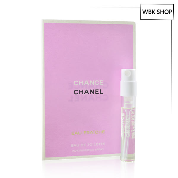 CHANEL 香奈兒 CHANCE香水 綠色氣息 女性淡香水 原裝針管小香 2ml - WBK SHOP