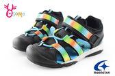 Moonstar 月星 男童護趾涼鞋 速乾 兩棲鞋 運動涼鞋H9661#黑色◆OSOME奧森童鞋