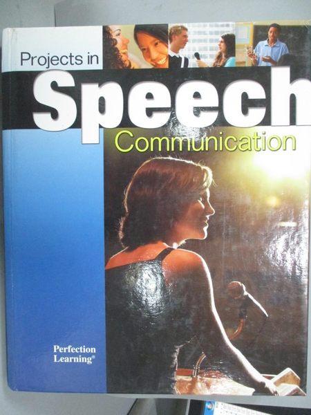 【書寶二手書T8/原文書_WEZ】Projects in Speech Communication_Sheryl A R