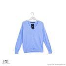 【INI】超值舒適、V領織紋質感針織外套...