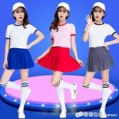 新款韓版成人爵士舞服裝舞蹈服啦啦隊團體演出服現代舞拉拉隊服裝