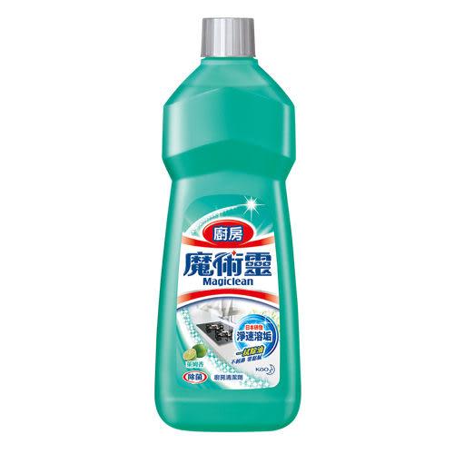 魔術靈 廚房清潔劑 經濟瓶萊姆香500ML【花王旗艦館】