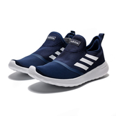 ADIDAS LITE RACER SLIPON 深藍白 襪套 無鞋帶 休閒 慢跑鞋 男(布魯克林) 2019/5月 F36664
