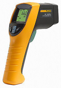 泰菱電子◆空調專業用紅外線測溫槍+K型熱電偶福祿克FLUKE-561 TECPEL