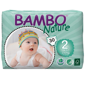 BAMBO 伴寶樂 嬰兒紙尿褲-2 號 (30片/包X6包/箱) Abena 丹麥進口【杏一】