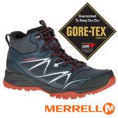 【美國 MERRELL】CAPRABOLD男GORE-TEX中筒戶外多功能鞋 黑色 35719 健行鞋│休閒鞋│登山鞋