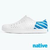 native JEFFERSON 男女鞋 - 貝殼白x夜光藍 8717