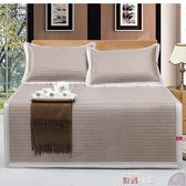 竹蓆  Canaan涼席1.8m床折疊三件套席子1.2夏季竹炭加厚冰絲席1.5米藤席 數碼人生