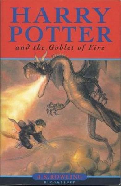 (二手書)Harry Potter and the Goblet of Fire (4)