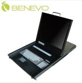【超人生活百貨】免運 BENEVO 機架型雙控制端 16埠19吋彩色液晶顯示器USB KVM電腦切換器 BKL1916U