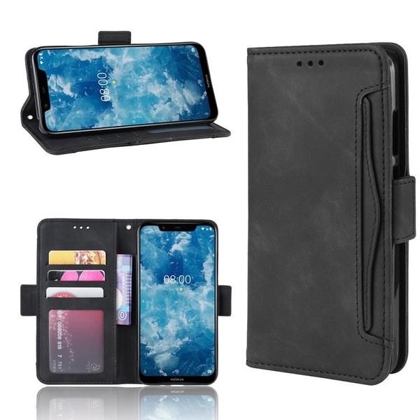 諾基亞8.1 多卡槽 錢包款 手機殼 Nokia 8.1 磁釦 掀蓋保護殼 Nokia8.1 翻蓋皮套 支架插卡 手機套