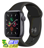 [COSCO代購] W125281 Apple Watch Series 5 (GPS),40 公釐灰色鋁金屬錶殼搭配黑色運動型錶環