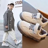 男童鞋 春季兒童加絨休閒運動鞋時尚板鞋女童鞋百搭小白鞋潮