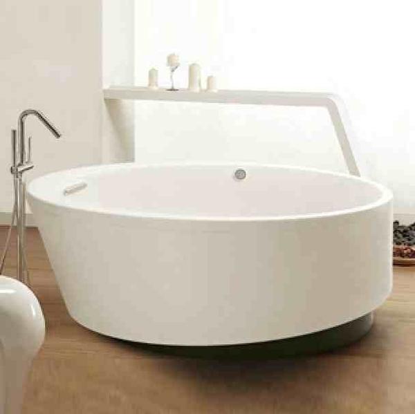 【麗室衛浴】美國KOHLER EVOK 獨立式壓克力圓型浴缸 K-18353T