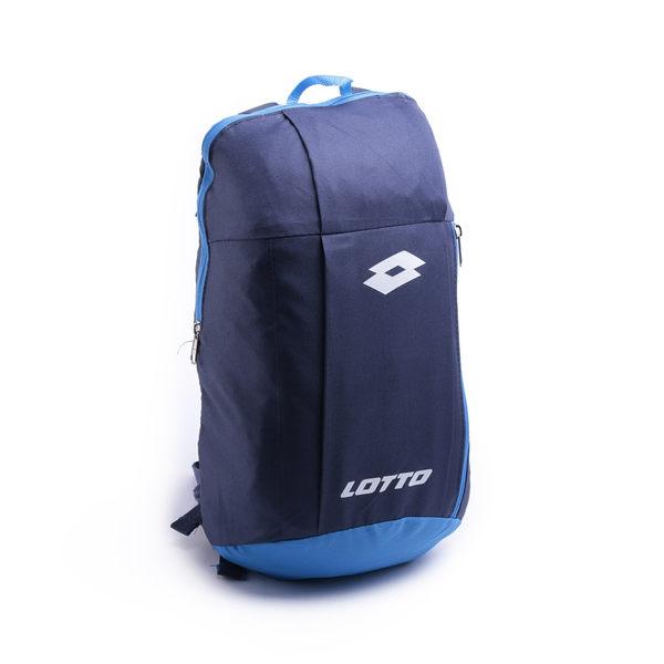 Lotto 輕便帆布後背包 藍 LT8CMB8806 鞋全家福