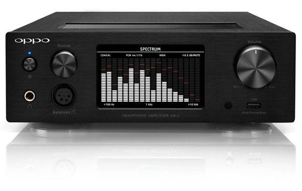 《名展影音》高音質 OPPO 獨立頂級 HA-1 耳機擴音機 (黑/銀)