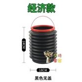 折疊水桶 汽車用折疊水桶車載垃圾桶便攜式洗車專用桶戶外旅行釣魚可伸縮筒