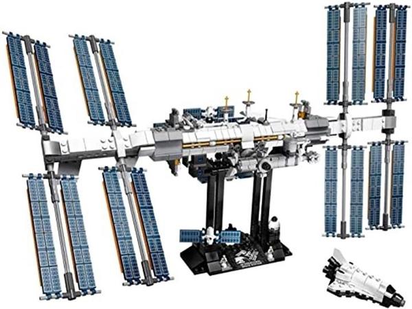 LEGO 樂高 創意國際空間站 21321 (864件) 白色