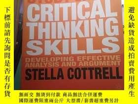 二手書博民逛書店Critical罕見Thinking Skills: Developing Effective Analysis