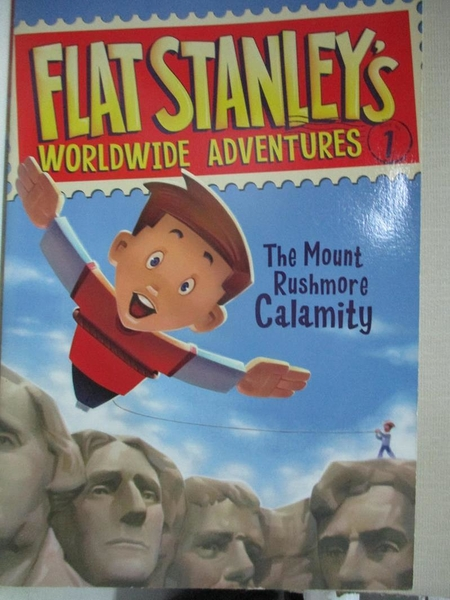 【書寶二手書T1/原文小說_HH1】The Mount Rushmore Calamity_Brown, Jeff (CRT)/ Pennypacker, Sara/ Pamintuan, Macky