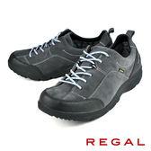 【REGAL】輕量透氣健步休閒鞋 灰色(258W-GRYS)