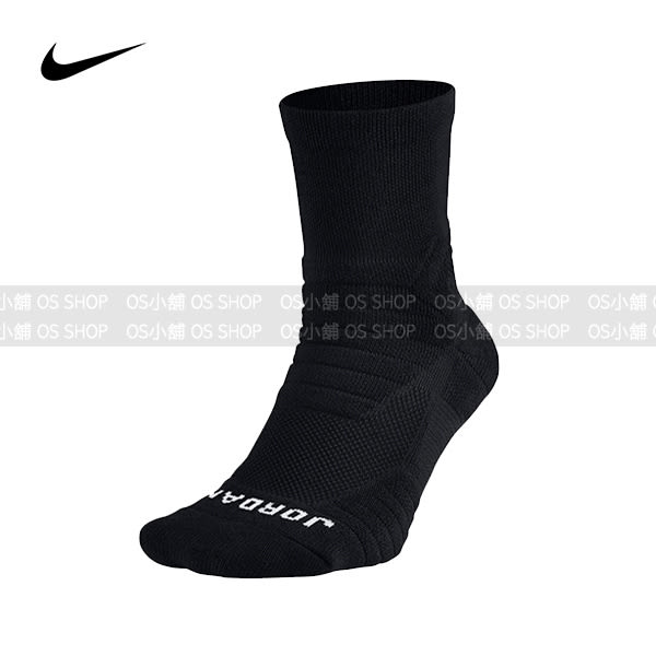 (特價) NIKE AIR JORDAN 籃球襪 SX5647-010 黑色 AJ厚底襪 FLIGHT QTR