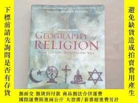 二手書博民逛書店GEOGRAPHY罕見OF RELIGION where god