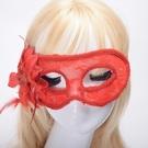 威尼斯 ( 側面玫瑰花 ) 性感玫瑰蕾絲面具 面紗/眼罩/面罩 cosplay 表演 舞會 派對【塔克】