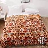 純棉四層紗布床蓋多功能蓋毯新款單雙人床蓋加厚防滑床單【Kacey Devlin】