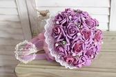 仿真新娘手捧花結婚韓式手捧花仿真婚禮花束攝影