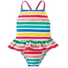 泳衣 英國 Frugi 小童 大童 細肩帶連身泳裝 泳衣 - 糖果彩紅條紋 SWS802SMR