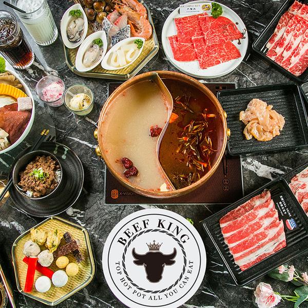 2張組↘【台北/台中】Beef King日本頂級A5和牛鍋物經典饗宴吃到飽