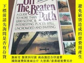 二手書博民逛書店OFF罕見THE BEATEN PATH, A GUIDE TO