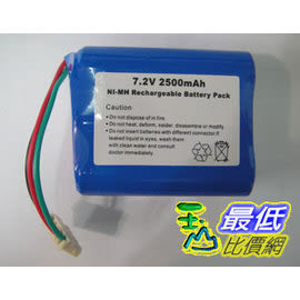 [玉山網] Mint 5200 5200C Braava 380t 抹地機 鎳氫 Ni-MH 充電電池 7.2V 2500mAh cd25