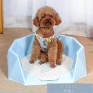 寵物廁所 寵物狗狗廁所小型犬泰迪金毛用品大號大型犬自動沖水狗狗盆 YJT【快速出貨】