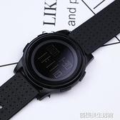 韓版簡約運動手錶港風電子錶夜光防水多功能手錶學生男女錶數字式