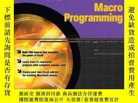 二手書博民逛書店Excel罕見Vba Macro ProgrammingY256260 Shepherd, Richard M
