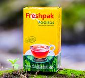 【Freshpak】南非國寶茶(博士茶) RooibosTea 茶包-新包裝(40入*3盒)