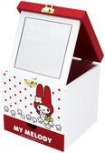 美樂蒂小型化妝カセットMYメロディ収納ボックスマイメロ収納キャビネットMM-0223