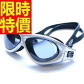 泳鏡-抗UV游泳防霧比賽浮潛蛙鏡3色56ab8【時尚巴黎】