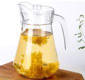 玻璃水壺  大容量透明飲料果汁家用茶壺