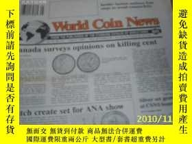 二手書博民逛書店World罕見Coin News(Vol.20,No.13)(J