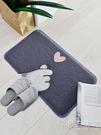卡通絲圈地墊門墊進門腳墊門口地墊家用墊子地毯廚房衛生間防滑墊WD 小時光生活館
