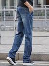 大牛傳說夏季薄款牛仔褲男直筒寬鬆高端春季彈力加肥大碼休閒長褲 露露日記