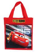 【卡漫城】 Cars 手提袋 紅色 ㊣版 汽車總動員 閃電麥坤 Mcquee 餐袋 便當袋 手提 防水 才藝袋 肩背
