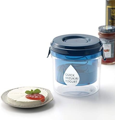 日本 AKEBONO 曙產業1H水切優格器 優格瀝水器 自製希臘優格 水切乳酪 一小時快速製作【小福部屋】