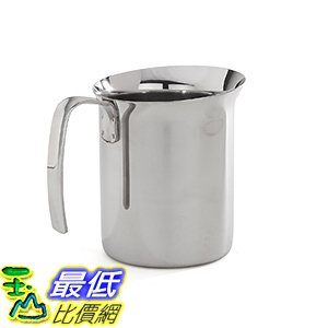 [106美國直購] Bialetti 06729 打奶泡杯 Frother Pitcher, Stainless Steel, 25-oz
